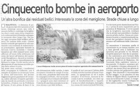 La Prealpina del 24 giugno 2006 - pagina 14