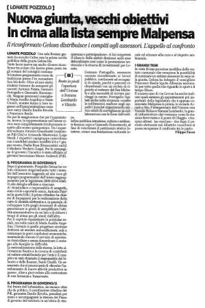 La Provincia di mercoledì 24 giugno 2009 - pagina 28