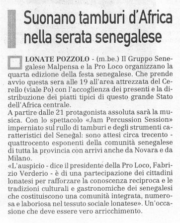 La Prealpina del 4 luglio 2009 - pagina 17