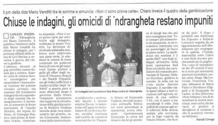 La Prealpina del 14 luglio 2009