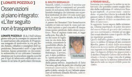 La Provincia di Varese di martedì 15 settembre 2009 - pagina 27