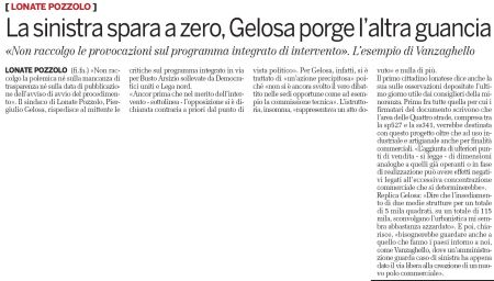 La Provincia di Varese di martedì 22 settembre 2009 - pag 29