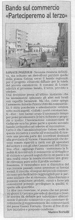 La Prealpina del 3 settembre 2009