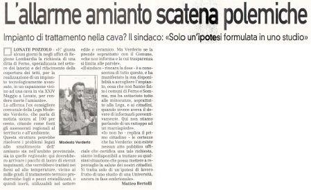 La Prealpina di venerdì 16 ottobre 2009 - pagina 12