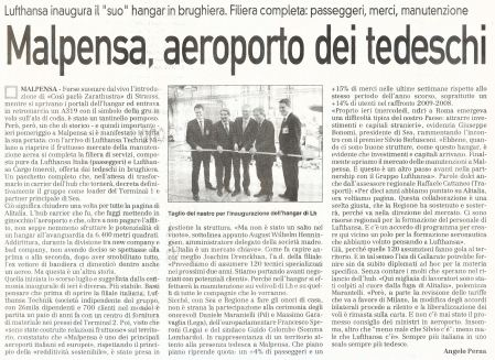 La Prealpina di venerdì 16 ottobre 2009 - pagina 13