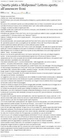 Varesenews del 22 ottobre 2009
