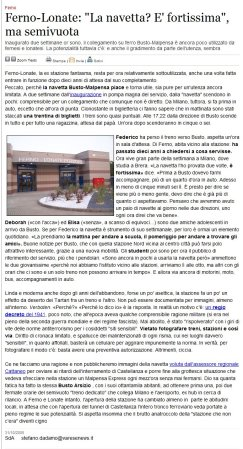 Varesenews del 31 ottobre 2009