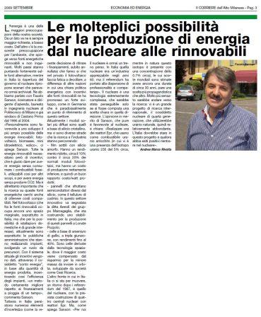 Corriede dell'Alto Milanese - settembre 2009