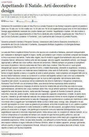 Varesenews del 16 novembre 2009