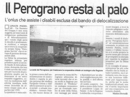 La Prealpina del 17 novembre 2009