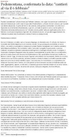 Varesenews del 26 novembre 2009