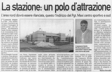 La Prealpina del 7 gennaio 2010