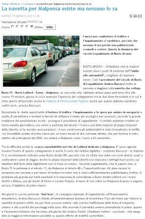Satelios News del 19 gennaio 2010