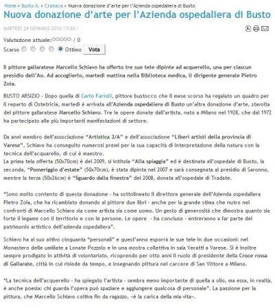 Sateliosnews del 26 gennaio 2010