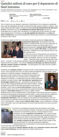 Varesenews del 27 gennaio 2010