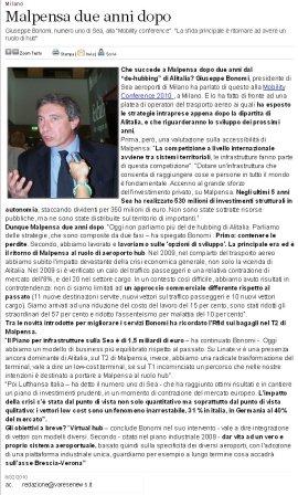 Varesenews del 8 febbraio 2010