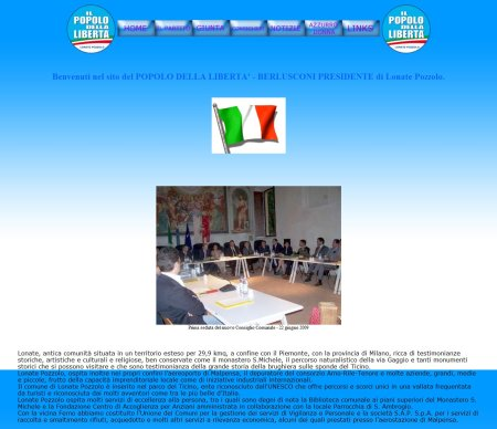 Home Page PDL Lonate Pozzolo