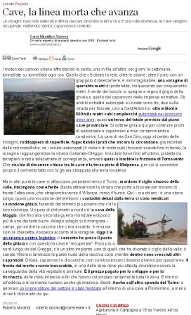 Varesenews del 2 marzo 2010