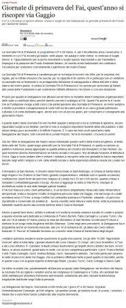 Varesenews del 19 marzo 2010