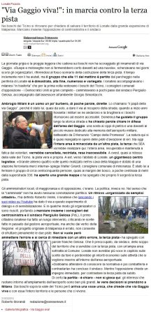 Varesenews del 21 marzo 2010
