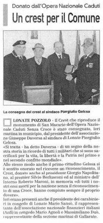 La Prealpina del 23 marzo 2010