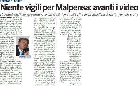 La Provincia di Varese di mercoledì 31 marzo 2010