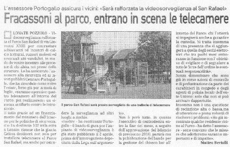 La Prealpina del 15 aprile 2010