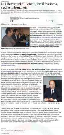 VareseNews del 22 aprile 2010