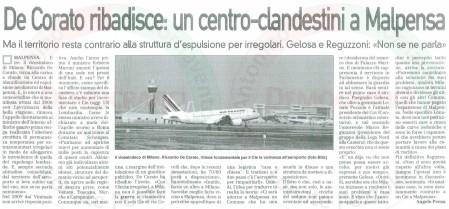 La Prealpina del 18 maggio 2010