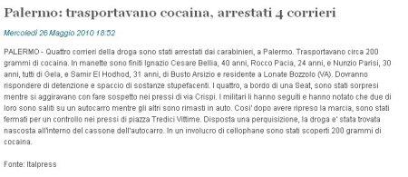 SiciliaNews24 del 26 maggio 2010