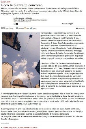 Varesenews del 28 maggio 2010