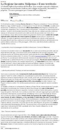 Varesenews del 8 giugno 2010