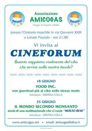 Amicogas - Cineforum
