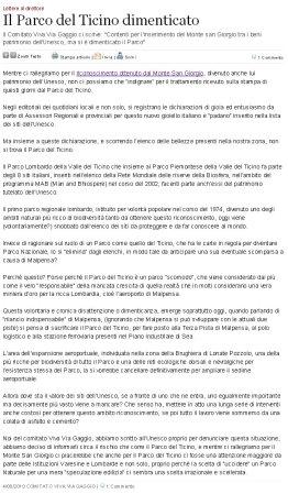 Varesenews del 4 agosto 2010
