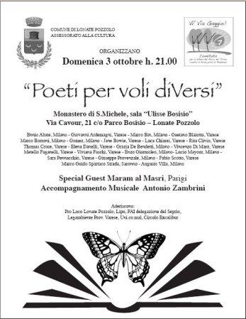 Poeti per voli diVersi