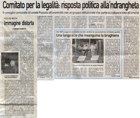 La Prealpina del 30 settembre 2010