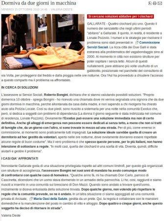 Varesenotizie del 15 ottobre 2010