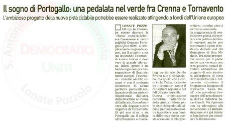 La Prealpina del 28 ottobre 2010