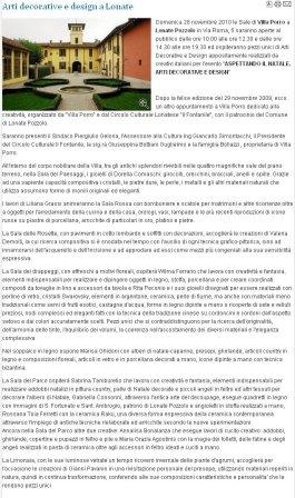 Varesenotizie del 24 novembre 2010