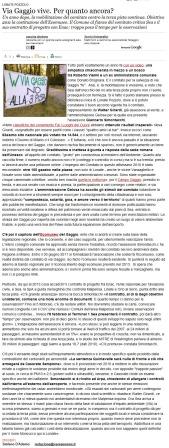 Varesenews del 27 gennaio 2011