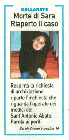 La Prealpina del 17 febbraio 2011