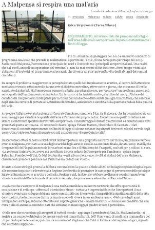 Terra News del 24 febbraio 2011