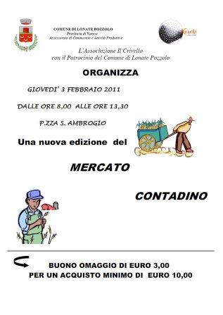 Mercato contadino febbraio 2011