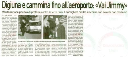 La Prealpina del 9 febbraio 2011