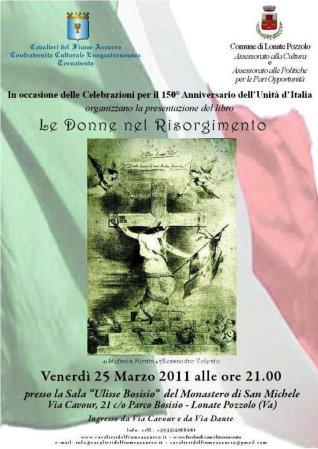 Le donne nel Risorgimento - 25 marzo 2011