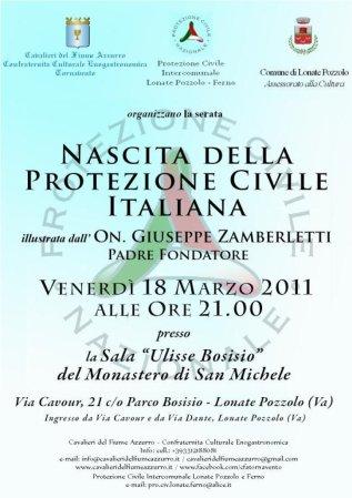Protezione Civile - 18 marzo 2011