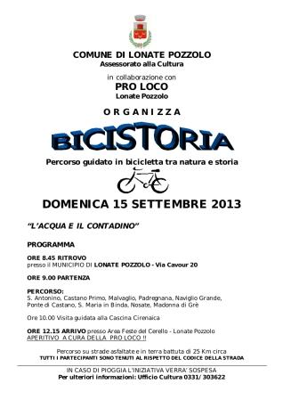 Bicistoria 2013