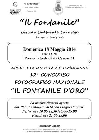 Fontanile D'Oro 2014