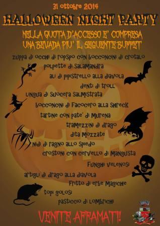 Halloween Night Party 2014