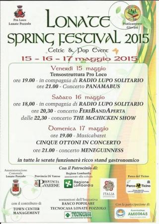 Lonate Spring Festival 2015